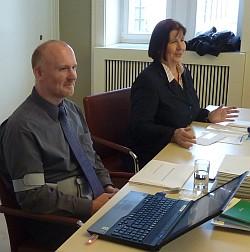 Dr. Helde Kleifeld und Dr. Renate Schwärzel (Foto: BBWA)