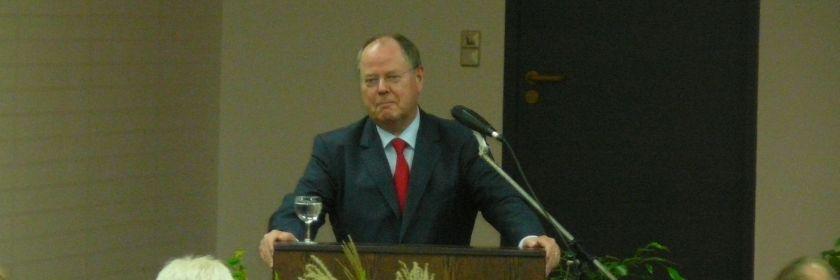 Festvortrag zum 100jährigen Jubiläum: Bundesfinanzminister a.D. Peer Steinbrück