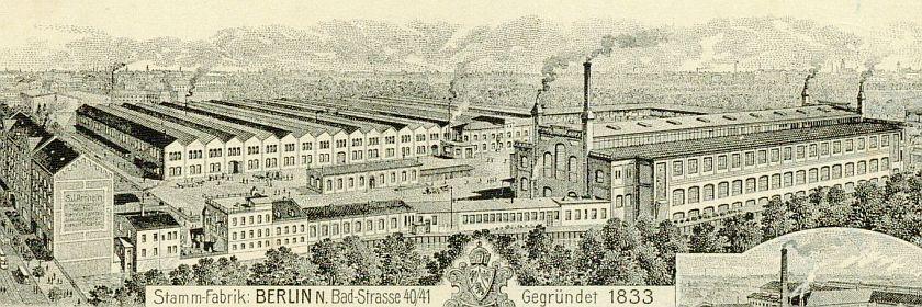 Werksgelände der Firma S. J. Arnheim im Weddng (BBWA S 7/1698)