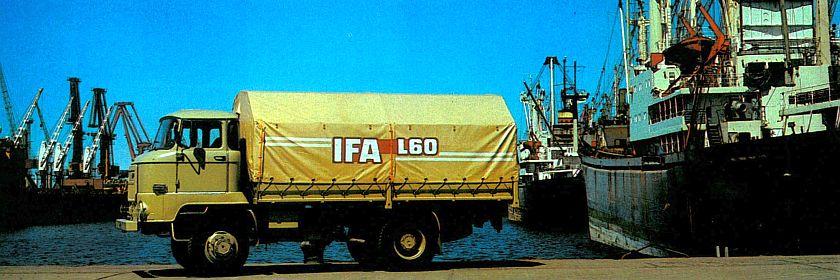 IFA L60 am Tor zur weiten Welt