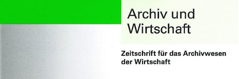 Archiv und Wirtschaft, Heft 2, 2015