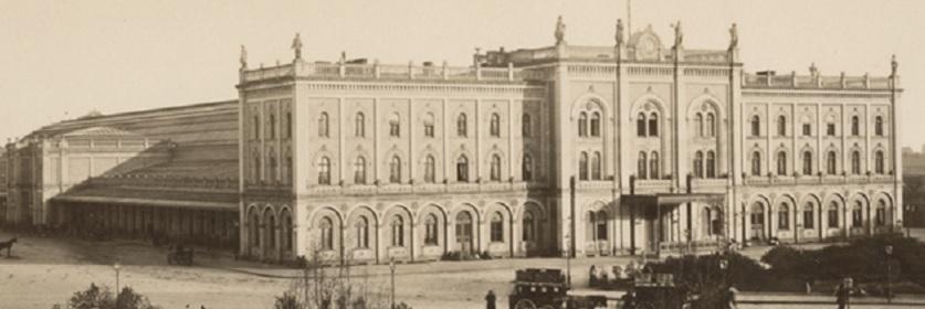 Ostbahnhof (Bild: Stiftung Deutsches Technikmuseum)