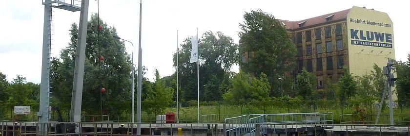 Urban & Lemm an der Charlottenburger Schleuse (Foto: BBWA)