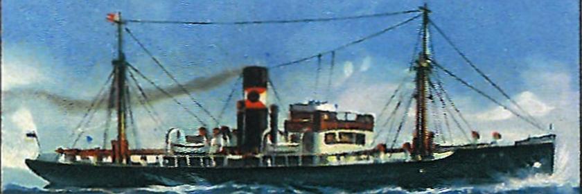 """Passagier- und Frachtdampfer """"Feodosia"""""""