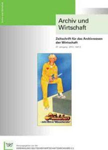 Archiv und Wirtschaft 2/2014