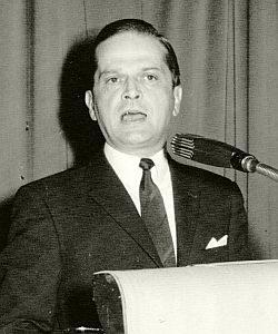 Dr. Günter Braun spricht vor dem VBKI am 14. Juni 1971 (BBWA V2/5/273, Nr. 3)