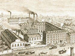 Fabrik in der Skalitzer Straße Bild:(Stiftung Deutsches Technikmuseum)