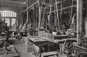 Tischlerei und Holzbearbeitungswerkstatt (1896)