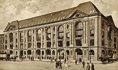 Kaufhaus Hertzog 1910