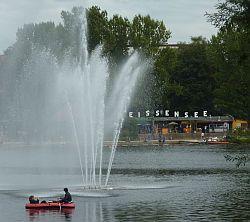 Heute noch Seeterrassen und Fontäne (Photo: BBWA)