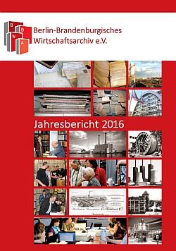 Deckblatt zum Jahresbericht 2016