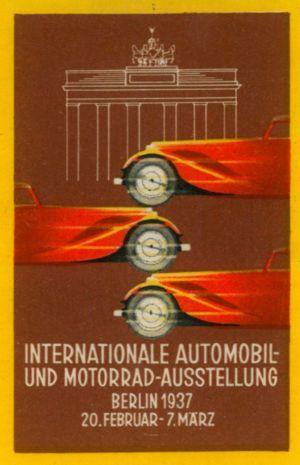 Reklamemarke 1937 (BBWA S2/18)