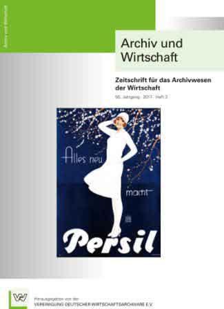 Archiv und Wirtschaft 3/2017
