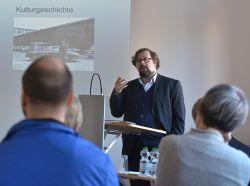"""""""Wirtschaftsarchiv und Gesellschaft"""" - Vortrag von BBWA-Geschäftsführer Berghausen (Foto: © Landesarchiv Berlin, Foto: Thomas Platow)"""