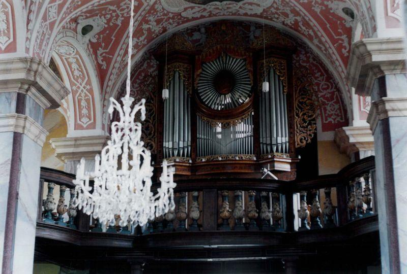 Orgel in Neuzelle 2002 (Foto: BBWA/Bergelt)