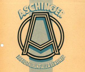Aschingers Historischer Braukeller (BBWA S2/8/585)