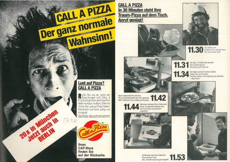 Call a Pizza 1988 (BBWA S2/8/973)