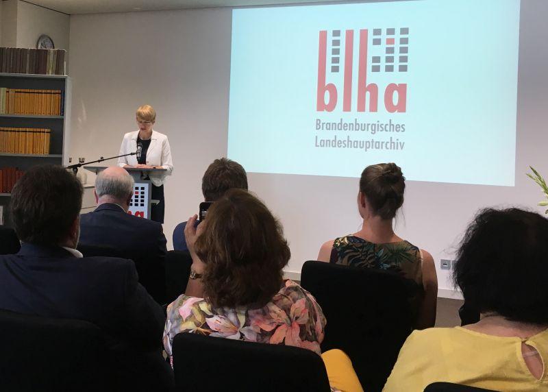 Ministerin Martina Münch (Foto: BBWA)